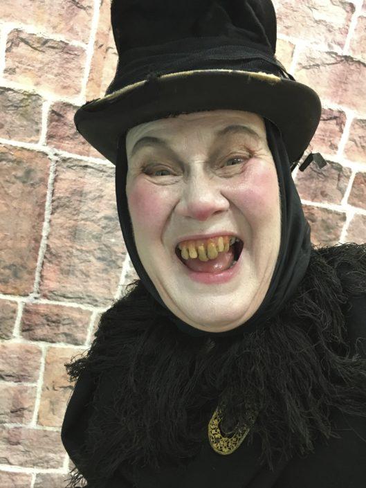 Anna Pluck Söderling skådespelare Västerbottensteatern En julsaga