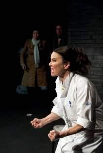 Anna Pluck Söderling skådespelare Teateri Morden på Canal street Dr Jekyll och Mr Hyde